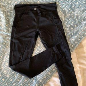Forever 21 Pocket Workout Leggings • Black